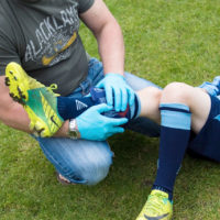 Sports First Aid For Professional Or Amateur Sports People
